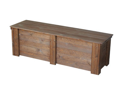 Piha-arkku, rusk. 50 x 60 x 160 cm