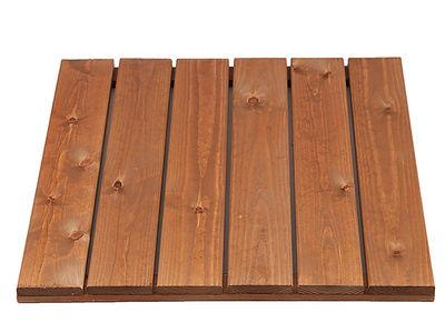 Pihalaatta, parvekelaatta, luonnon ruskea 60x60 cm