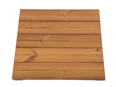 Pihalaatta, parvekelaatta, lämpökäsiteltyä mäntyä n. 60x60 cm